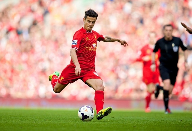 can't stop scoring, Philippe Coutinho