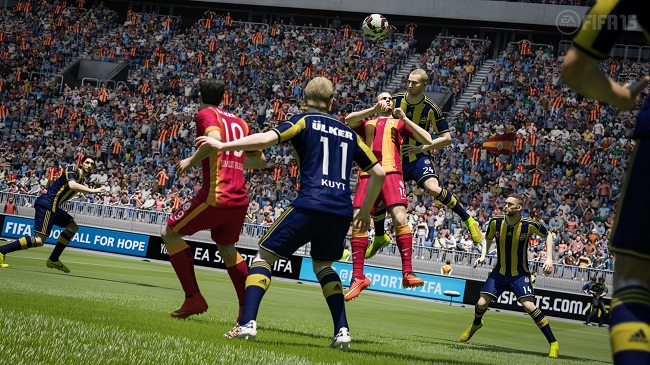 Say goodbye to rubbish FIFA 15 soundtrack